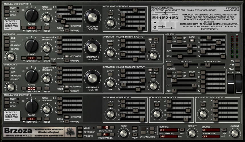 Brzoza Free Synth VST Plugin