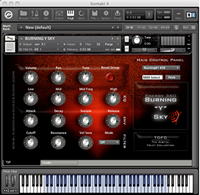 Burning Y Sky Kontakt Instrument