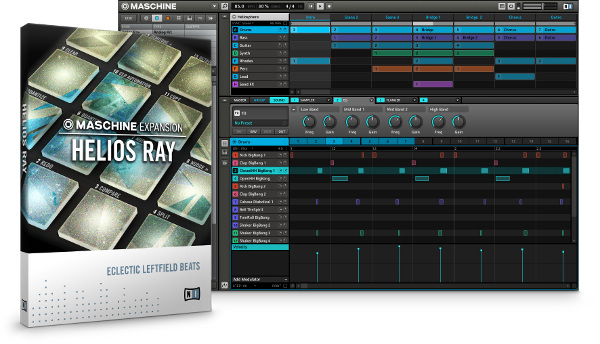 Helios Ray Native Instruments Expansion