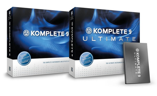 new komplete 9 and komplete 9 ultimate by native instruments. Black Bedroom Furniture Sets. Home Design Ideas