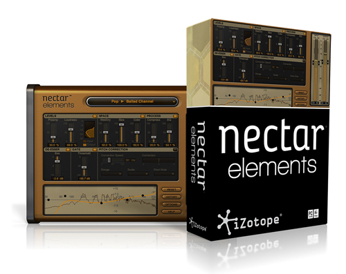 nectar elements vocal effects plug in by izotope. Black Bedroom Furniture Sets. Home Design Ideas