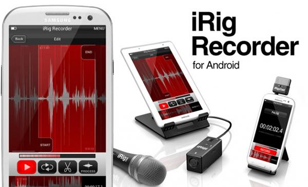 iRig Recorder IK Multimedia App Android