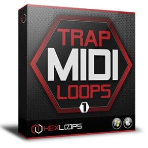 Trap MIDI Files Loops Vol 1