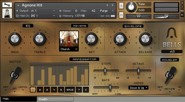 Bells Kontakt Sound Library by Audio Thing