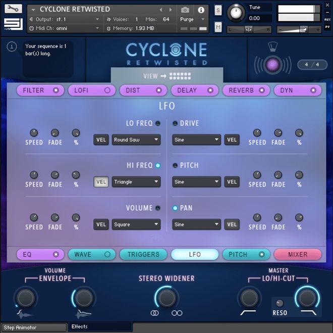 Cyclone Kontakt Instrument