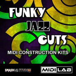 Funky Jazz Cuts Midi Construction Kits