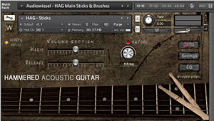 Hammered Acoustic Guitar Kontakt 5 Library