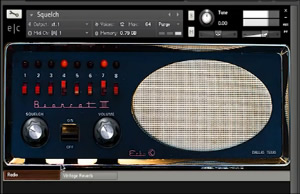 Squelch NI Kontakt Sound Effects Library