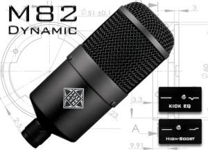 M82 Dynamic Microphone by Telefunken