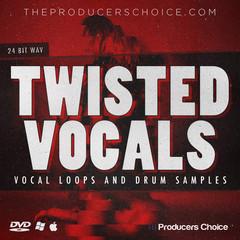 Twisted Vocals Drums Sample Packs