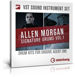 Signature Drums Vol 1 Expansion by Steinberg
