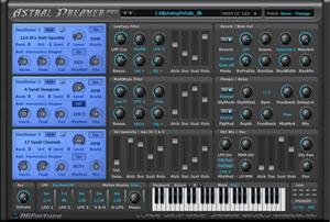 Astral Dreamer Synthesizer Windows VSTi by HGFortune