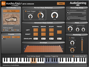 AudioGaming AudioSteps Plugin