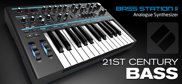Novation - Bass Station II Keyboard