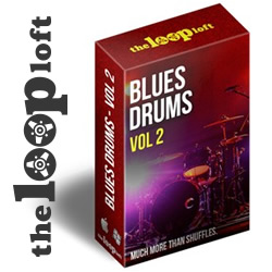 Blues Drums Vol 2 Sample Pack