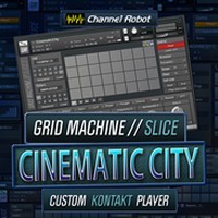 Cinematic City Channel Robot Kontakt Library