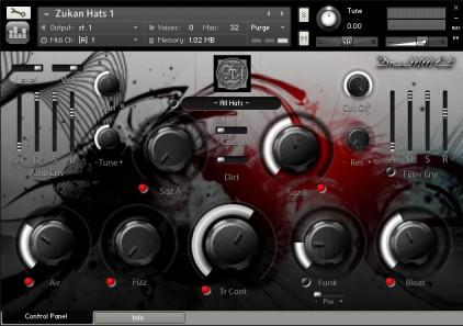 DruMM Elements Series 4: Hats Kontakt Instrument
