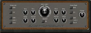 Easy-Q-Delay Free Stereo VST Effect