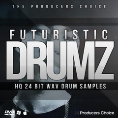 Futuristic Drums Sample Pack - Producers Choice