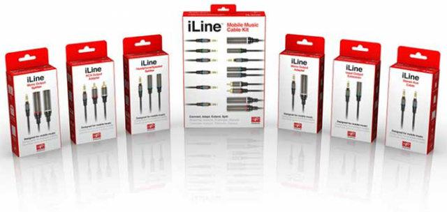 iLine Mobile Cables - IK Multimedia