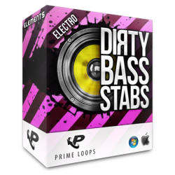 Prime Loops Dirty Bass Stabs Electro Pack