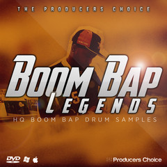 Boom Bap Legends - Drums Samples