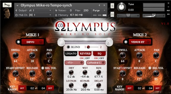 Olympus Mike-Ro Solo Kontakt Sound Library