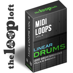 Midi Loops Vol 4 - Linear Drums Pack