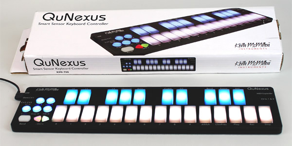 QuNexus Keyboard Controller by Keith McMillen Instruments