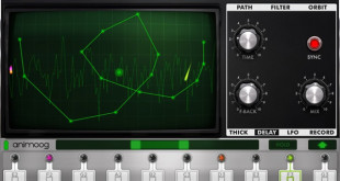Animoog Synthesizer for Blackberry Z10 Released by Moog