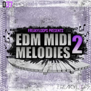 EDM MIDI Melodies 2 Synth Loops Pack by Freaky Loops