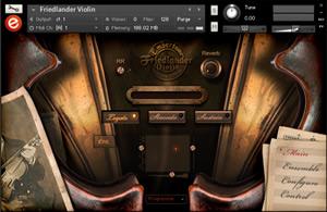 Friedlander Violin - Kontakt 5 Sample Library by Embertone