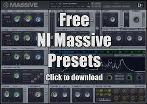 Free NI Massive Presets - Free Download