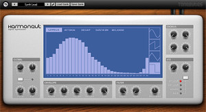 Harmonaut Free VST Synthesizer Instrument by Tone Bytes
