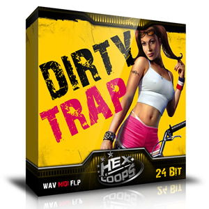 Dirty Trap Hip Hop Loops Pack