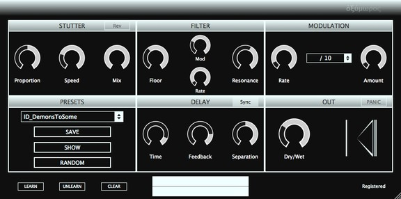 Oxymore Delay VST/AU Plugin by Inear Display