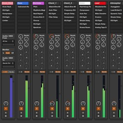 Ultimate Mixer For Ableton Live 8 and 9
