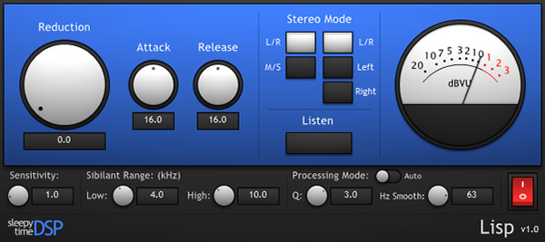 Lisp Free VST Effect Plugin for Windows by Sleepy-Time DSP