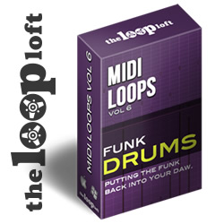 Funk Drums Midi Drum Loops Vol 6 by The Loop Loft