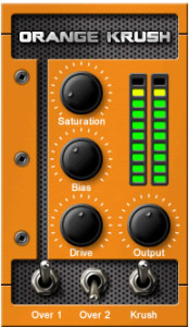 Orange Krush Distortion VST/AU Plugin by Acidgrooves