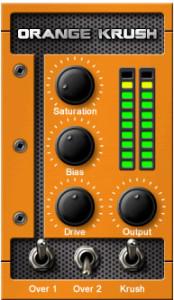 Orange Krush Distortion VST/AU Plugin by Acidgrooves