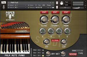 Palm Mute Piano - Kontakt Library by Paper Stone Instruments