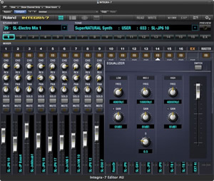 Integra-7 Editor Plug-in for Mac by Roland