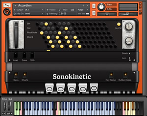 Accordion - New Kontakt Instrument Library by Sonokinetic