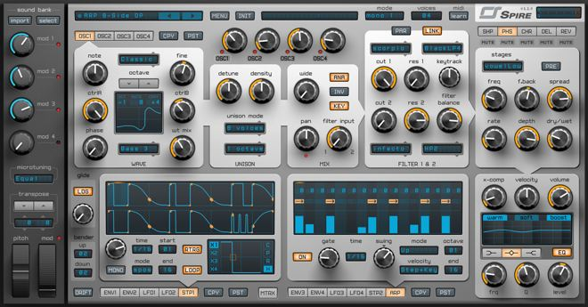 SPIRE Polyphonic Synthesizer