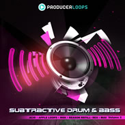 Subtractive Drum and Bass Volume 3 Sample Pack