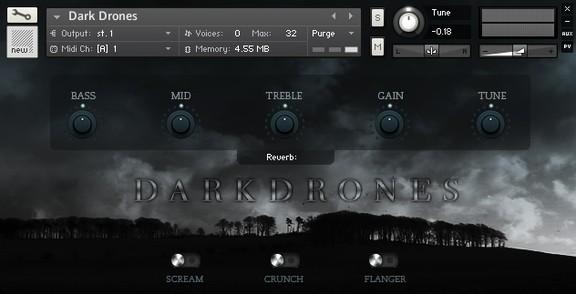 Dark Drones Free Kontakt Sample Library by Sun.Io