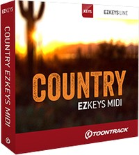 Country EZkeys MIDI Expansion by Toontrack