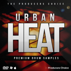 Urban Heat Drum Sample Kit by The Producers Choice