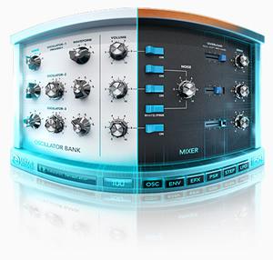UltraMini Vintage Hybrid Synthesizer